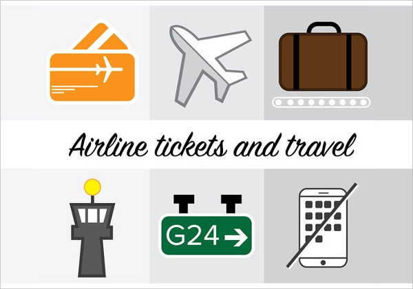 Elegant Airline Icon Free Download