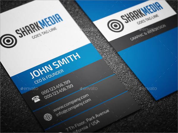 Cool Elegant Business Cards Design