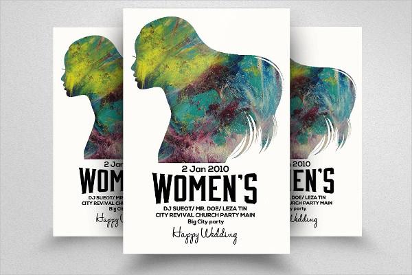 Elegant Women's Day Flyer Template