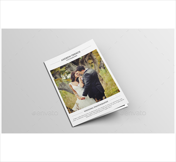 Unique Photography Brochure Template