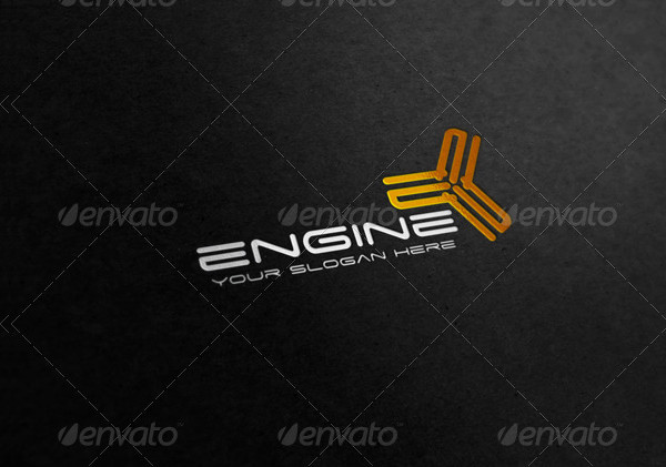 Engine Business Logo Template