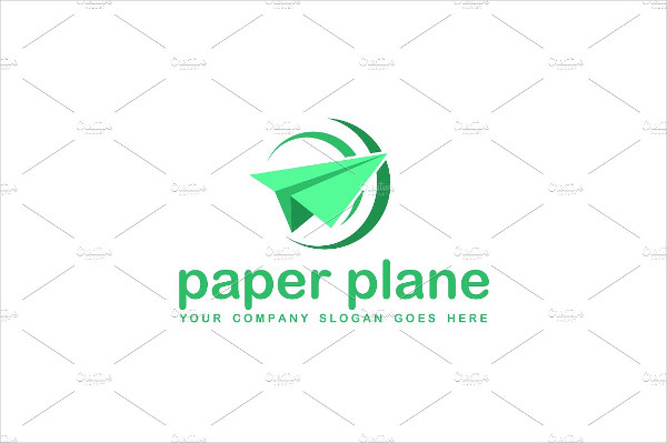 Excellent Airlines Agency Logo Template