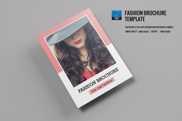 PSD Fashion Brochure Template