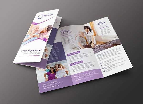 Family Services Brochure Template