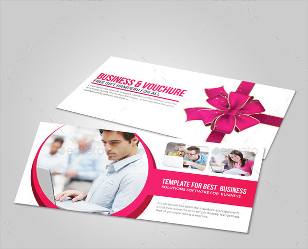 Printable Business Gift Card Voucher