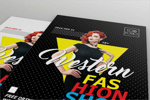 Best Fashion Show Audition Flyers