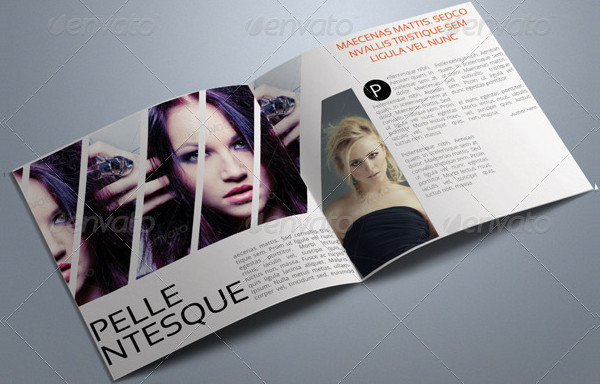 Fashion Square Brochure Template