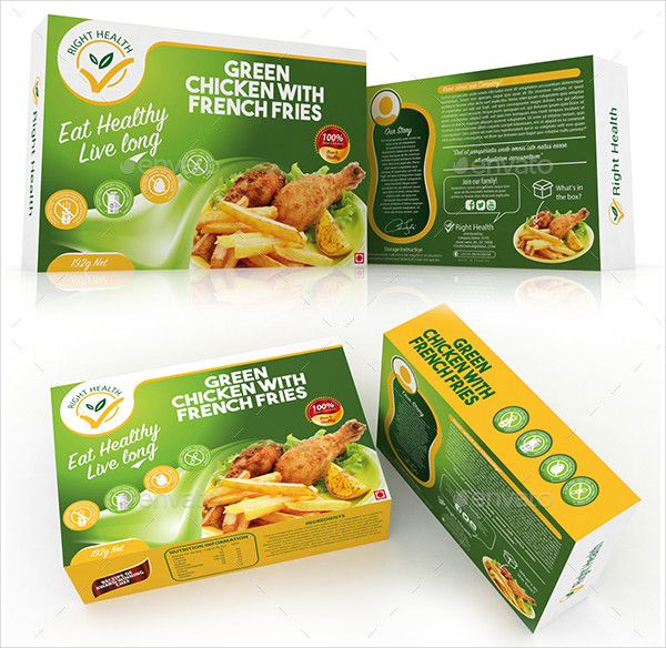 Fast Food Box Templates