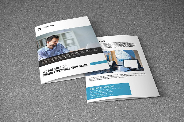 Financial Business Brochure Template