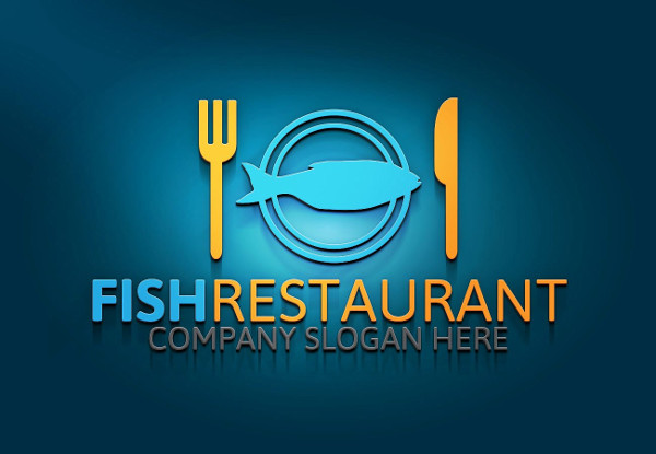 Fishing Restaurant Logo Template