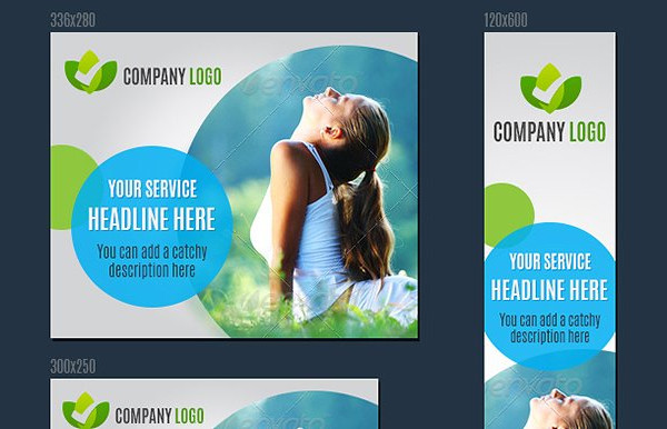 Fitness Health Web Banners