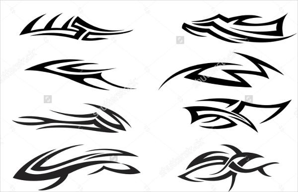 Creative Tribal Tattoo Pattern