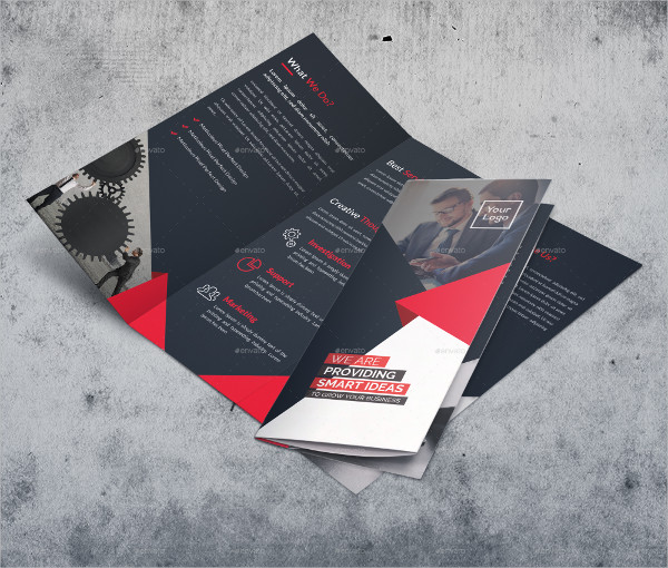 Customizable Trifold Brochure Template