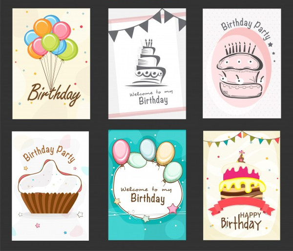 Free Collection of Birthday Party Flyers