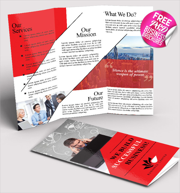 Free PSD Business Brochure Template