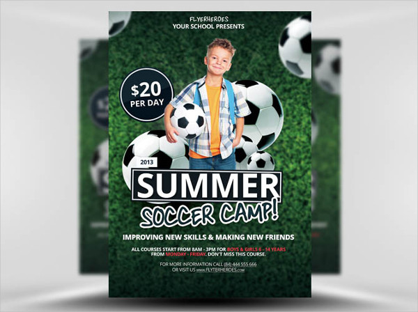 Free Soccer Audition Flyer Template