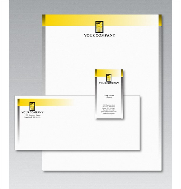 Free Stationery Template Design