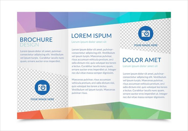 Free Trifold Brochure Vector Template