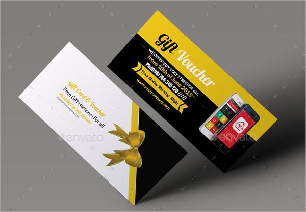 Unique Business Gift Voucher Design