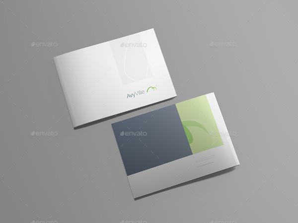 Fully Editable Brochure Presentation Mockup