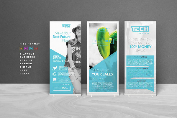 Fully Editable Business Banner Template