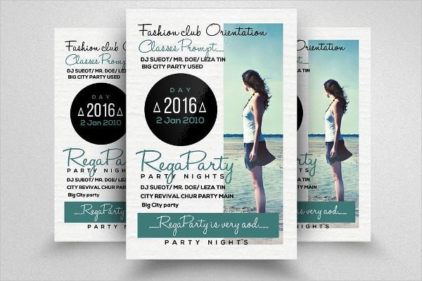Fully Editable Women Freedom Flyer Template