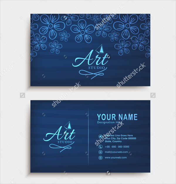 Funky Visiting Card Template