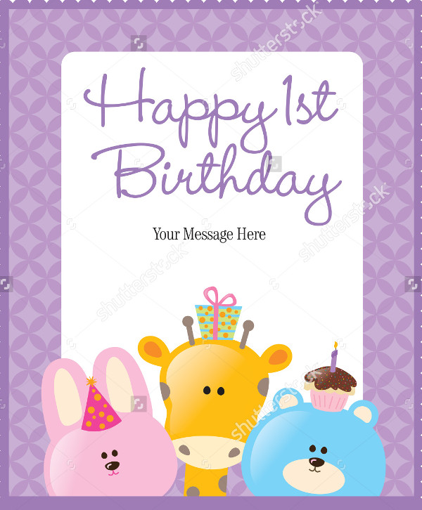 Funny Flyer Template for Birthday