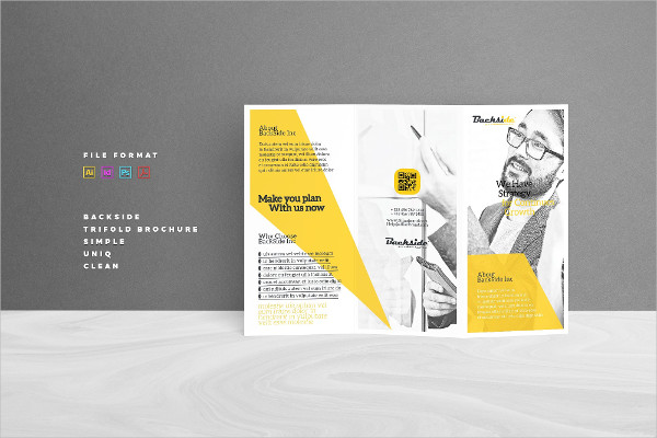 Sample Tri-Fold Brochure Template