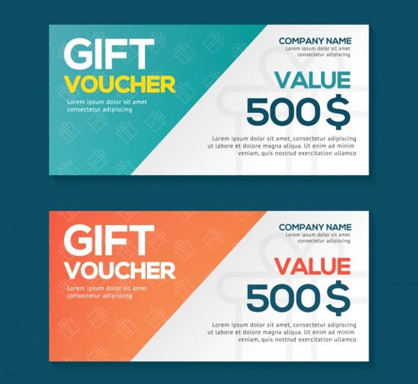 Gift Voucher Design Free Download
