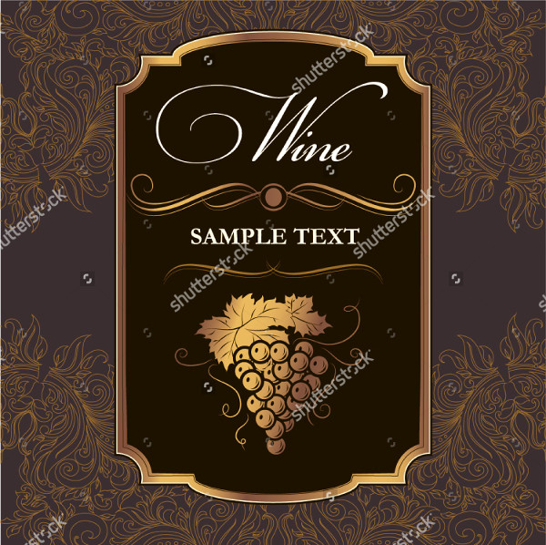 wine label template photoshop 23 free premium download
