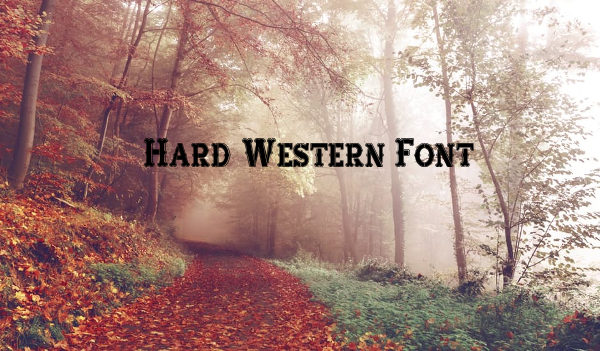 Hard Western Fonts Free