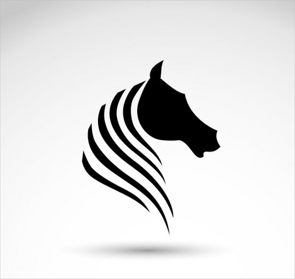 Horse Silhouette Logo Free Download