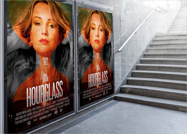 Hour Glass Movie Poster Template
