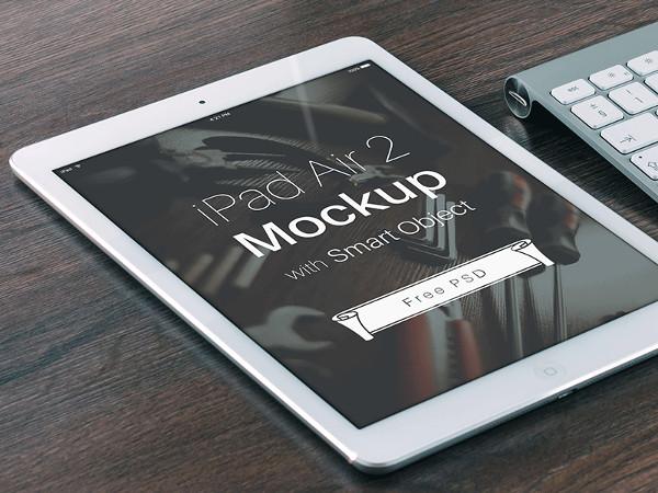 Free iPad Air 2 Mockup PSD