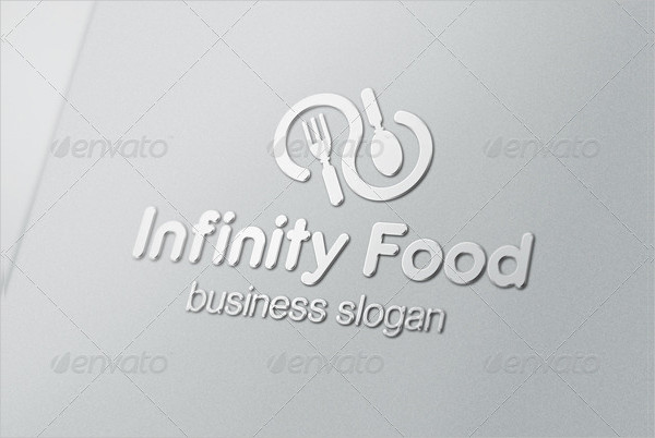 Infinity Food Restaurant Logo Template