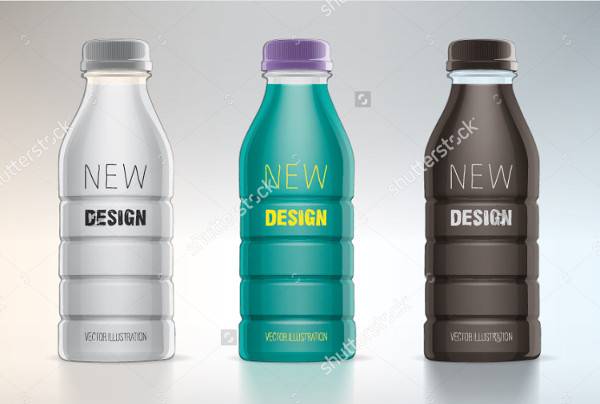 New Design Water Bottle Labels Template