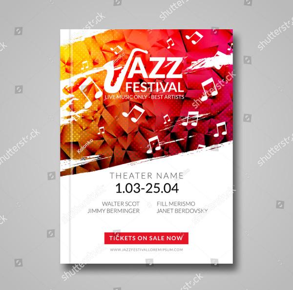 Jazz Musical Flyer Template