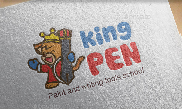 Kids King Logo Template