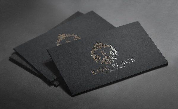 King Place Logo Template