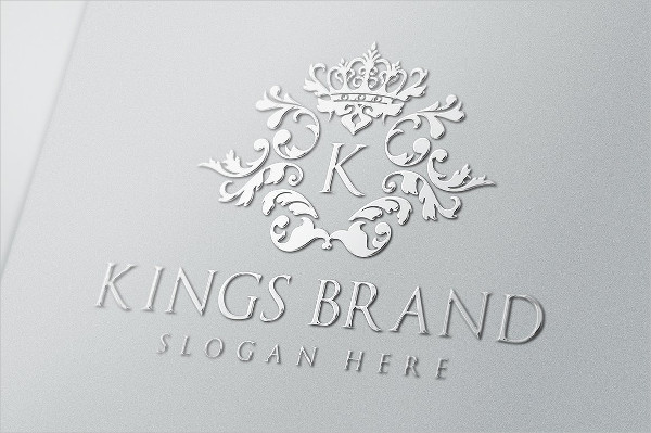 Kings Brand Logo Template
