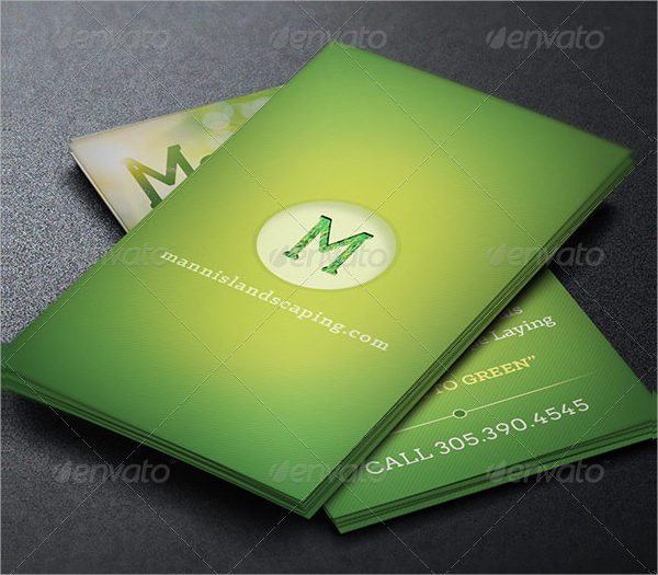 95 business card design templates free premium download landscaping business card template wajeb Choice Image
