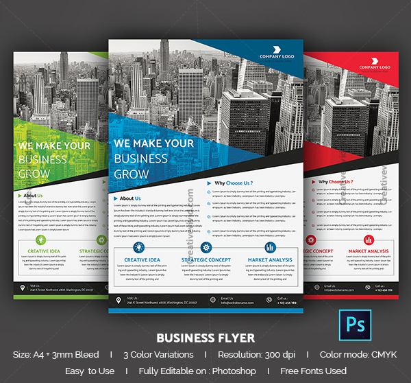 29 business flyer templates free premium download