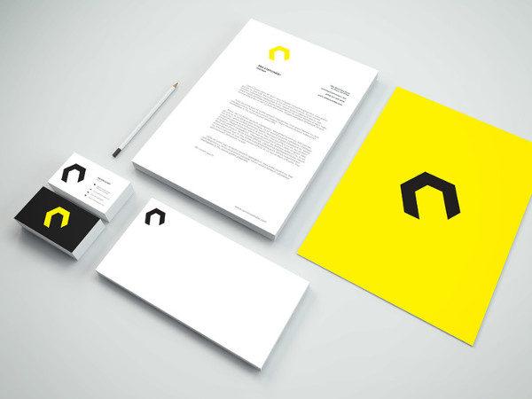 Branding Stationery Mockup Free Download