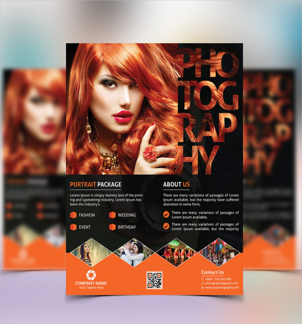 Leaflet Photography Flyers