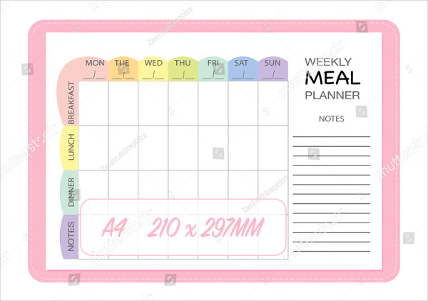 Menu Planning Template
