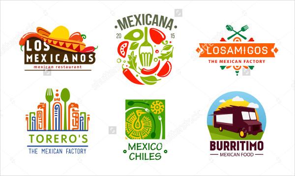 Mexican Food Vector Design Logo