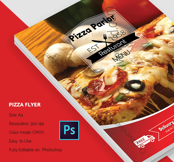 Free Download Pizza Flyer