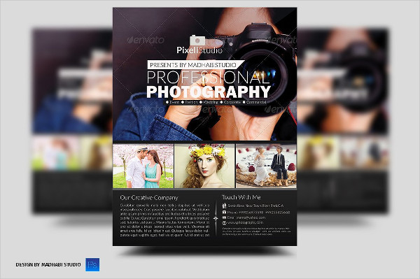 Modern Design Photography Flyers