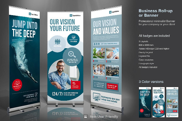 Modern & Clean Design Business Banner Template